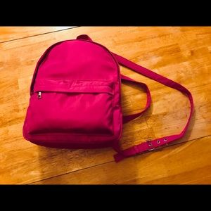 💕🆕Listing!!!Hot Pink/ Purple backpack purse